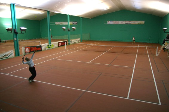 Salle de tennis Haute ROche - Sporting Club Beaucouzé
